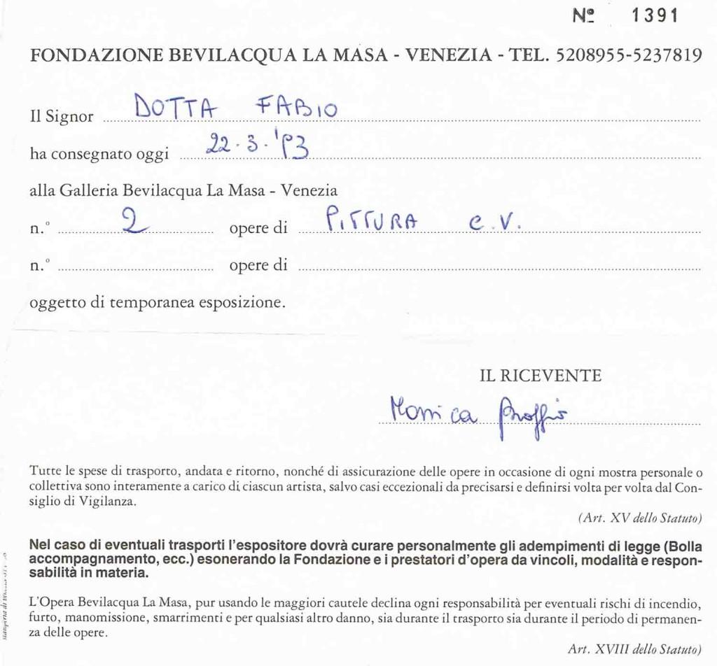 1993_VENEZIA BEVILACQUA LA MASA