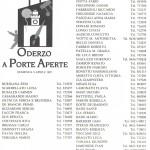 ODERZO A PORTE APERTE 1995