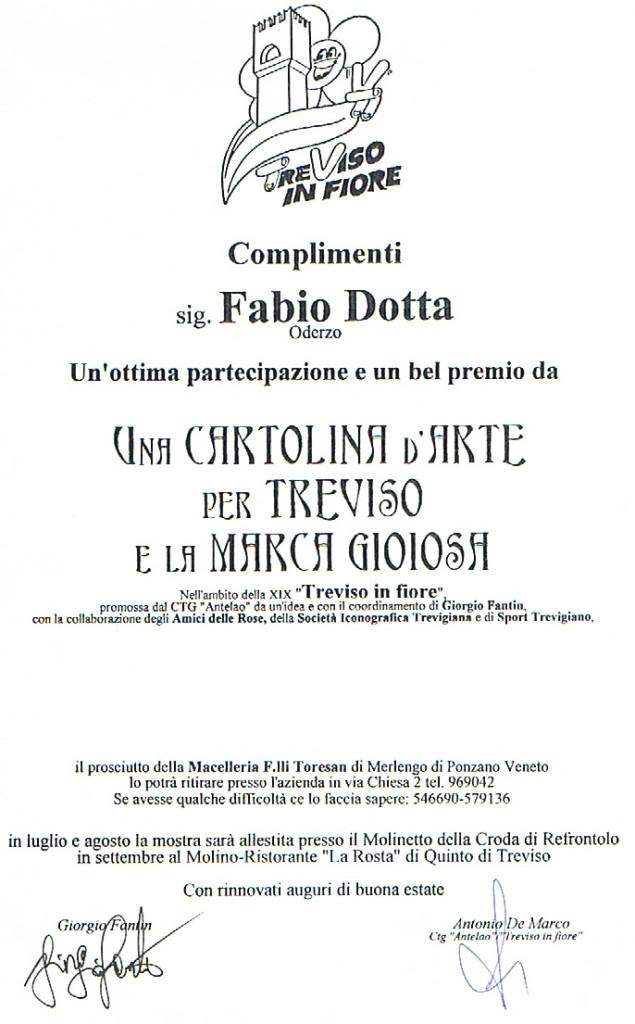 3° PREMIO CARTOLINA D'ARTE TREVISO