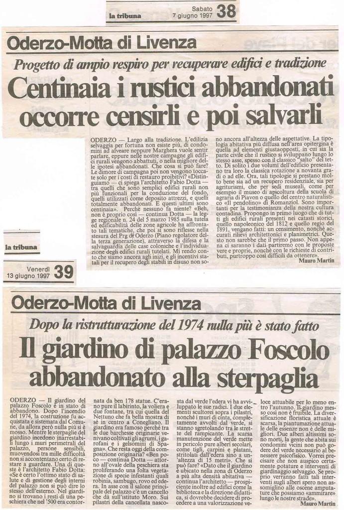 IL GIARDINO DEL FOSCOLO E I RUSTICI ABBANDONATI