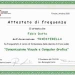 2010_ATTESTATO COMPUTER GRAFICA TRIESTE