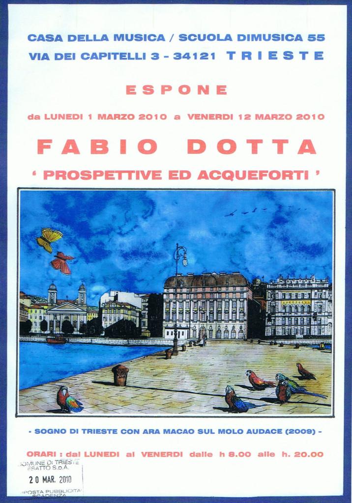 LOCANDINA MOSTRA 2010 CASA DELLA MUSICA
