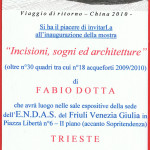 INVITO MOSTRA DEL 2010 ALL'ENDAS FVG