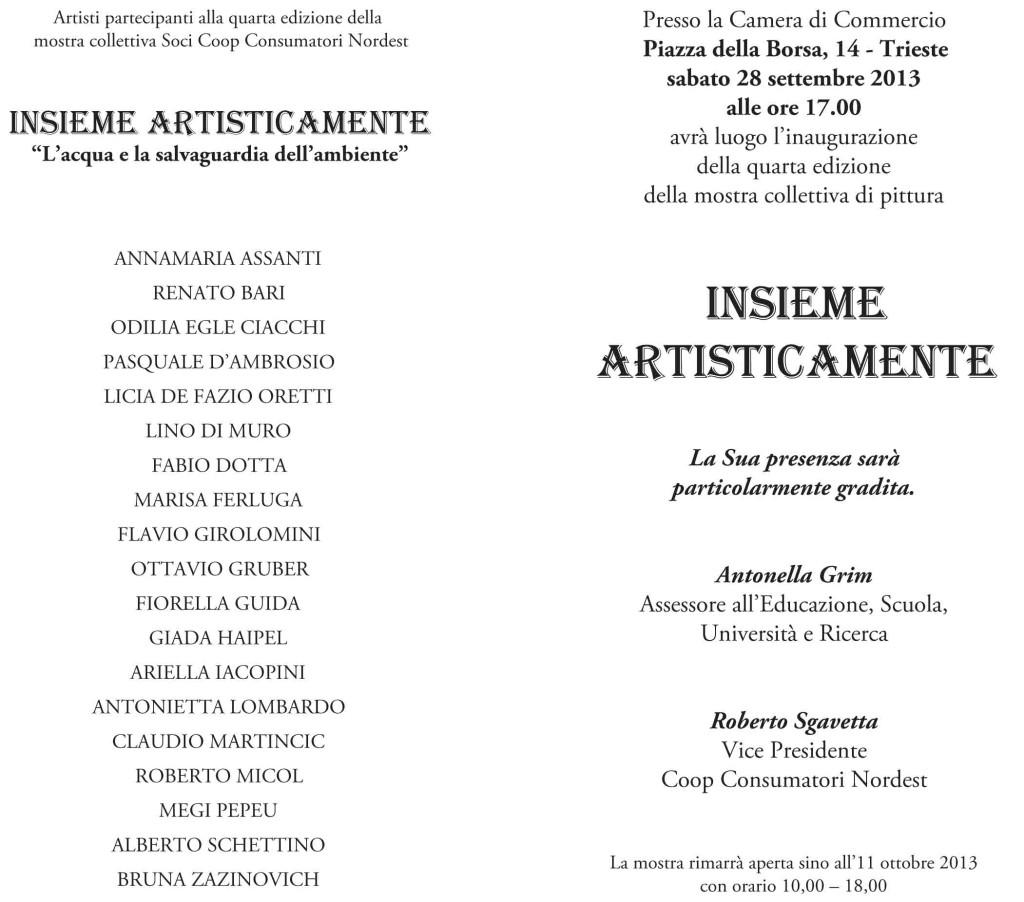 2013 COLLETTIVA CAMERA DI COMMERCIO TRIESTE