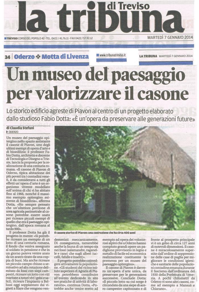 IL CASONE DI PIAVON - MUSEO DEL PAESAGGIO