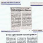 2014_2015 Articoli opitergini di sensibilizzazione sulla Tribuna