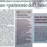 2016 PIAVE PATRIMONIO UNSESCO
