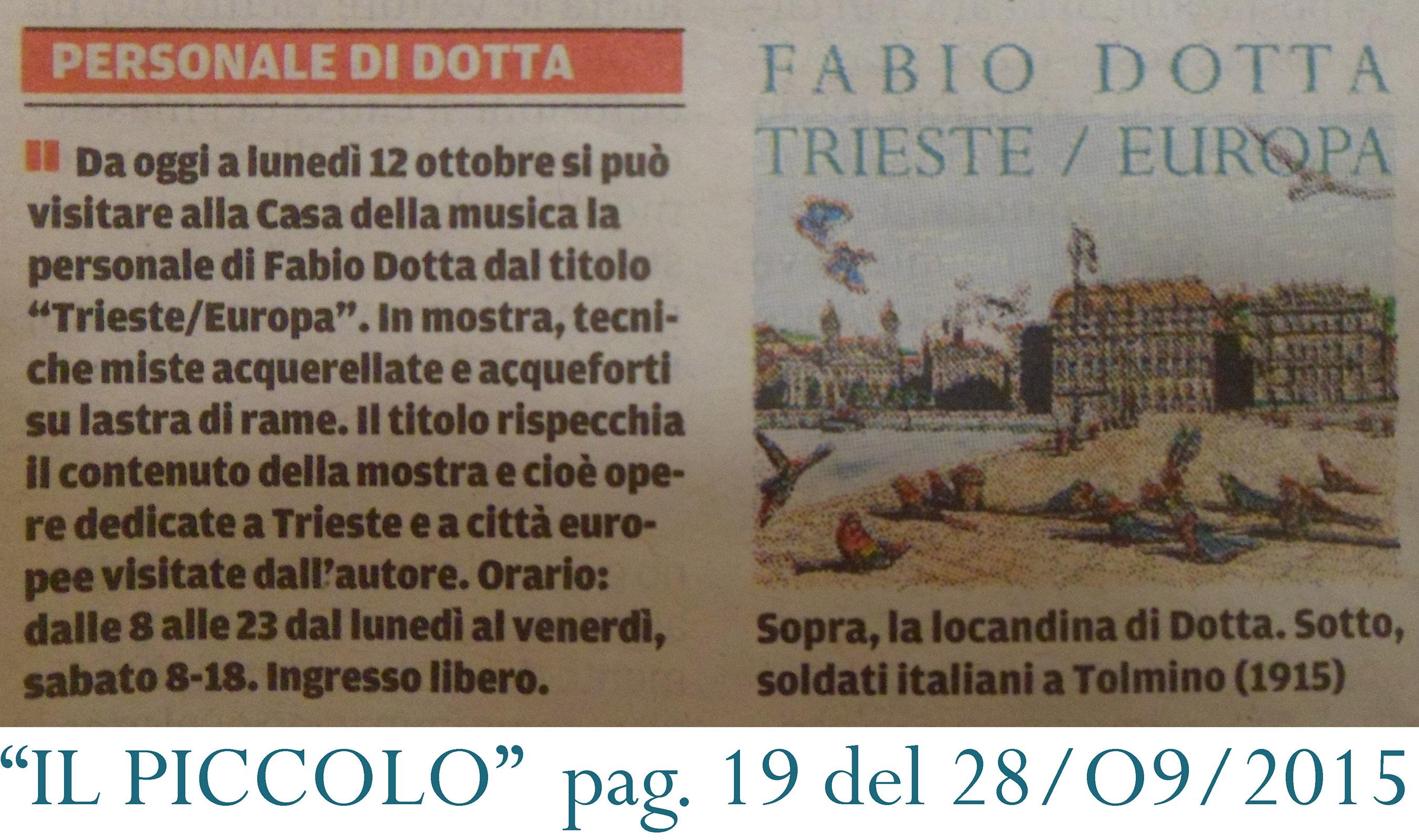 IL PICCOLO DI TRIESTE_TRIESTE_EUROPA pag 19 28_09_2015