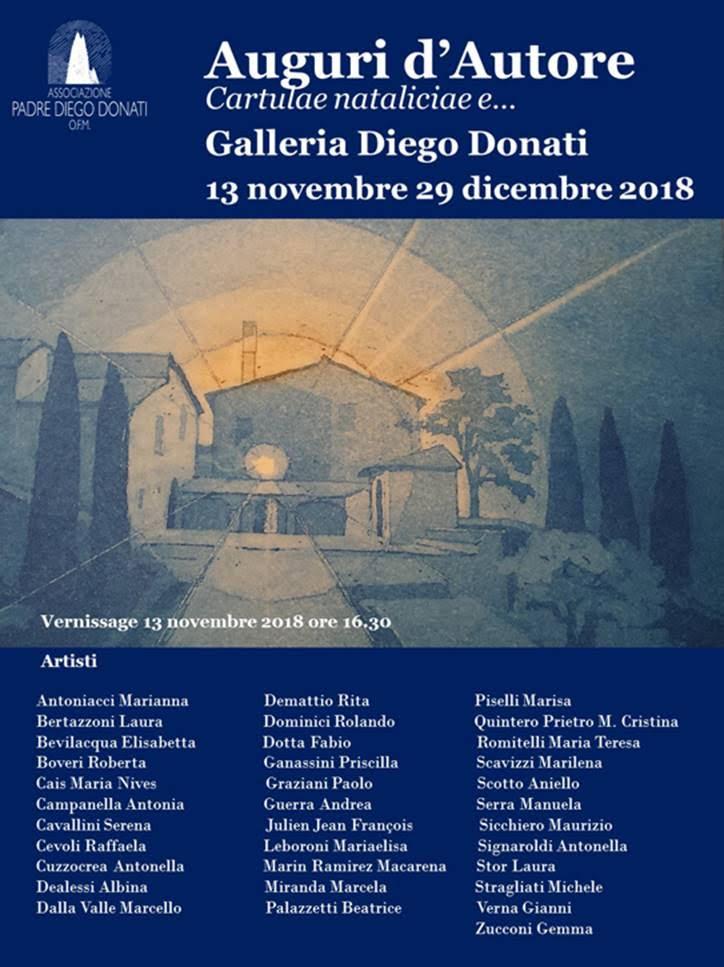 Auguri d'autore GALLERIA DIEGO DONATI