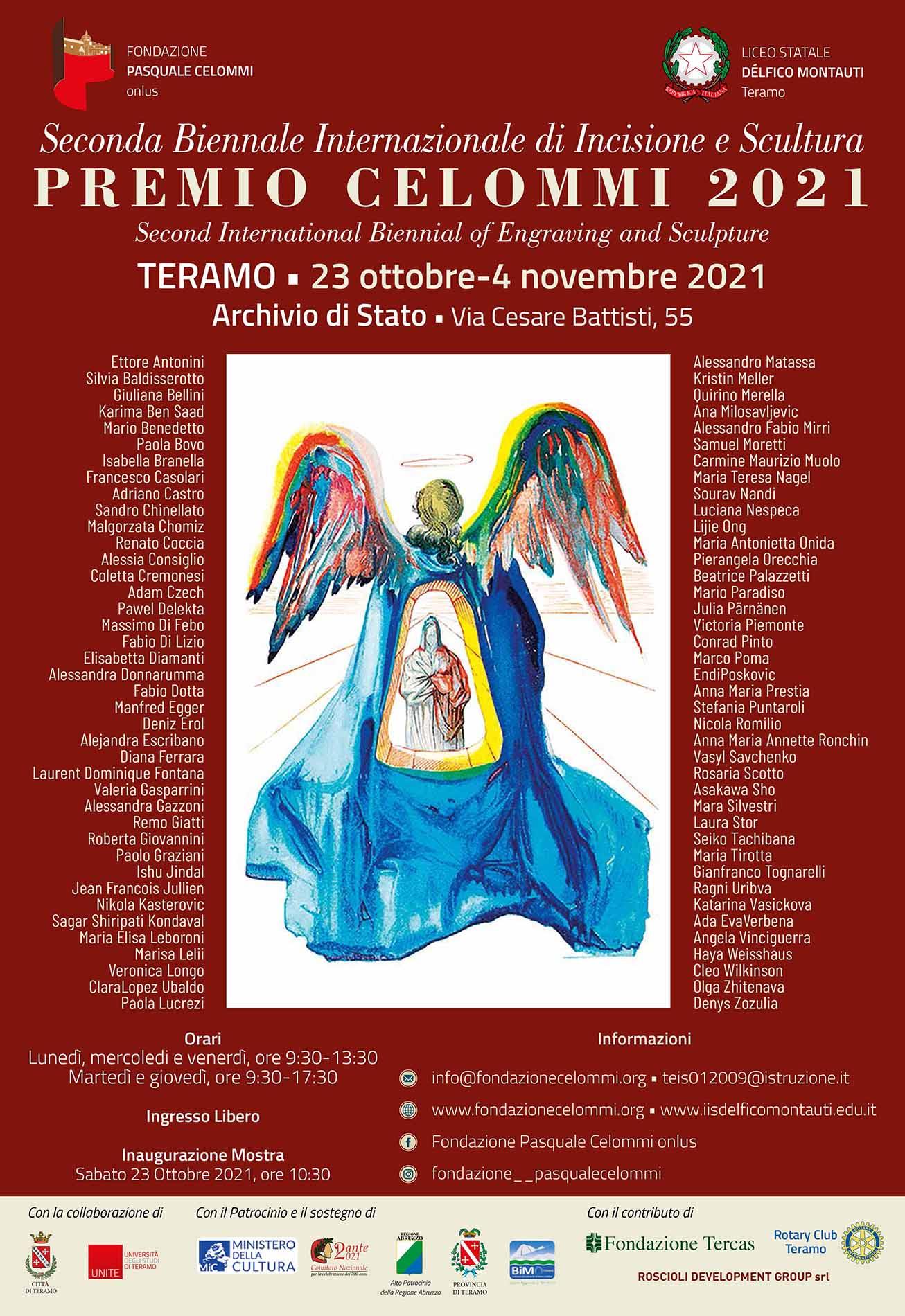 Biennale INCISIONE E SCULTURA di TERAMO Ott_Nov 2021