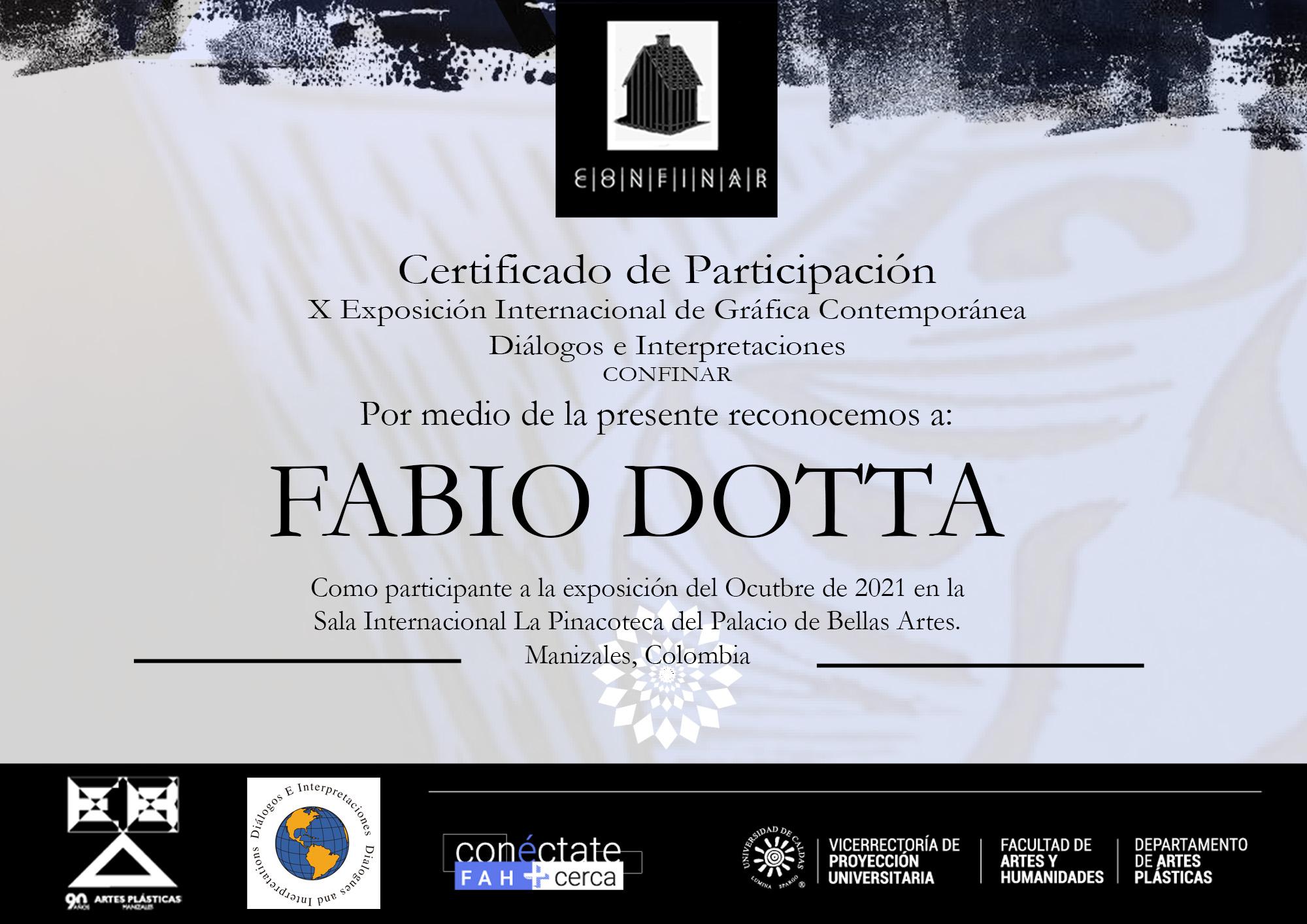 FABIO DOTTA palazzo delle belle arti di MANIZALES COLOMBIA